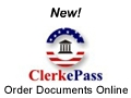 ClerkePass-Order Documents Online